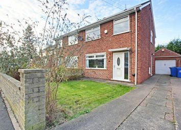 Thumbnail 3 bed semi-detached house for sale in Welbourn Walk, Hull