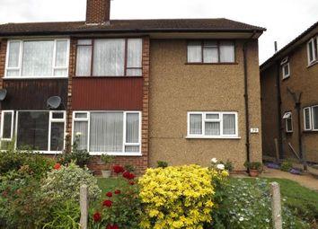 Thumbnail 2 bedroom maisonette for sale in Rise Park, Romford, Essex
