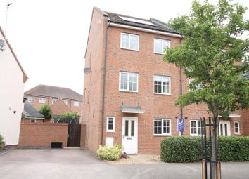 Thumbnail 4 bed end terrace house to rent in Greensand View, Parklands, Woburn Sands