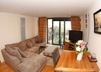 Thumbnail 2 bed flat to rent in Lightermans Road, Canary Wharf