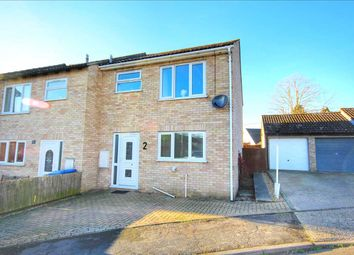 Thumbnail 3 bed end terrace house for sale in Newton Croft, Sudbury
