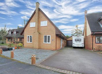 Thumbnail 4 bed detached house for sale in Almond Close, Barby, Rugby