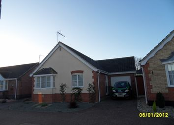Thumbnail 2 bed detached bungalow to rent in Richard Crampton Road, Beccles