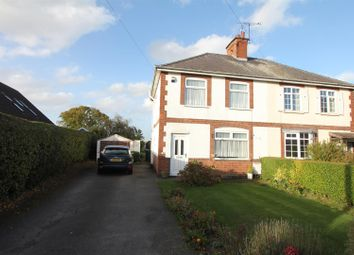 Thumbnail 4 bed semi-detached house for sale in Hinckley Road, Stoke Golding, Nuneaton