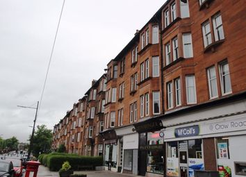 Thumbnail 2 bed flat to rent in Crow Road, Glasgow