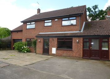 Thumbnail 4 bed detached house for sale in Holly Bank, Sprowston, Norwich