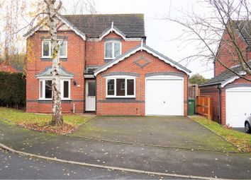 Thumbnail 4 bed detached house for sale in Sulby Drive, Apley Telford