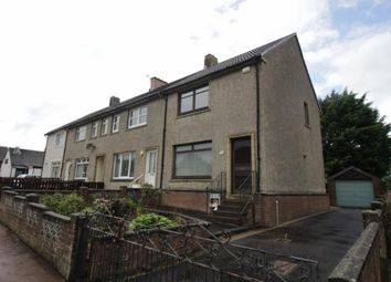 Thumbnail 2 bed end terrace house to rent in Eastwood Drive, Lesmahagow, Lanark