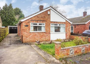 Thumbnail 2 bed detached bungalow for sale in St. Hilarys Close, North Hykeham, Lincoln