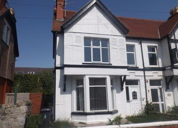 Thumbnail 3 bed maisonette for sale in Maelgwyn Road, Llandudno, Conwy