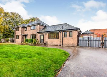 Thumbnail 6 bed detached house for sale in Chester Road, Holmes Chapel, Crewe