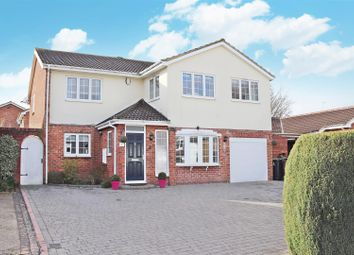 Thumbnail 4 bed detached house for sale in Stanton Close, St.Albans