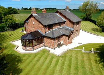 Thumbnail 4 bed detached house for sale in Ormskirk Old Road, Bickerstaffe, Ormskirk