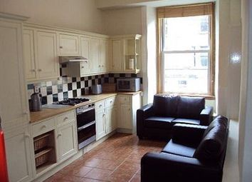 Thumbnail 3 bedroom flat to rent in Polwarth Crescent, Edinburgh EH11,