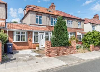 Thumbnail 5 bed semi-detached house for sale in The Drive, High Heaton, Newcastle Upon Tyne