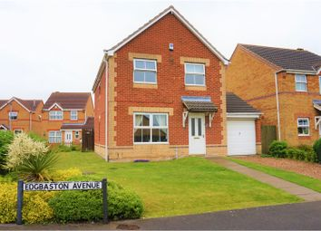 Thumbnail 4 bed detached house for sale in Edgbaston Avenue, Scunthorpe