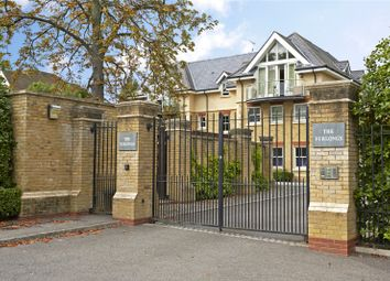 Thumbnail 2 bed flat for sale in Parkview Place, The Furlongs, Esher, Surrey