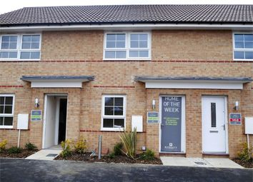 Thumbnail 2 bed town house for sale in Red Admiral Road, Worksop, Nottinghamshire