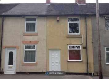 Thumbnail 2 bed terraced house to rent in Cemetery Road, Cannock