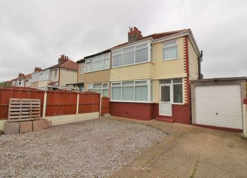 Thumbnail 3 bed terraced house for sale in Bedford Avenue, Thornton-Cleveleys, Lancashire FY52Ea