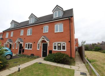 Thumbnail 4 bed town house for sale in Metcalfe Close, Burton-On-Trent