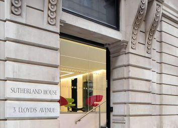 Thumbnail Serviced office to let in Lloyds Avenue, London