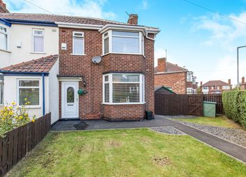 Thumbnail 3 bed semi-detached house for sale in Endsleigh Drive, Middlesbrough, Cleveland