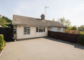 Thumbnail 2 bed semi-detached bungalow for sale in Station Road, Wendens Ambo, Saffron Walden
