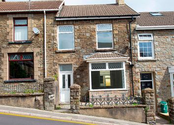 Thumbnail 3 bed terraced house for sale in Ynysmeurig Road, Abercynon, Mountain Ash