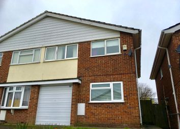 Thumbnail 3 bed semi-detached house to rent in St. Christophers Close, Dunstable