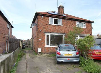 Thumbnail 2 bed semi-detached house for sale in Beverley Avenue, Leicester, Leicestershire