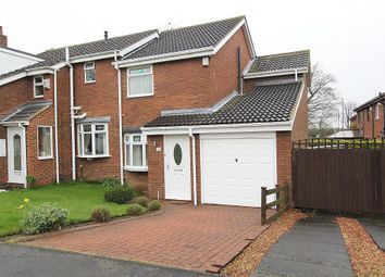 Thumbnail 3 bedroom semi-detached house for sale in Bowlynn Close, Sunderland, Tyne And Wear
