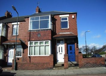 Thumbnail 3 bed flat to rent in Birchington Avenue, South Shields