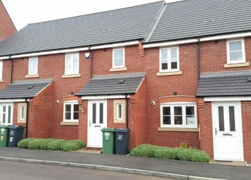 Thumbnail 3 bedroom terraced house to rent in Long Meadow Way, Birstall, Leicester
