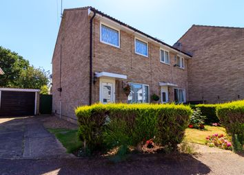 Thumbnail 3 bed semi-detached house for sale in Heysham Close, Lincoln