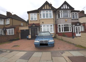 Thumbnail 3 bed semi-detached house for sale in Christie Gardens, Chadwell Heath, Romford