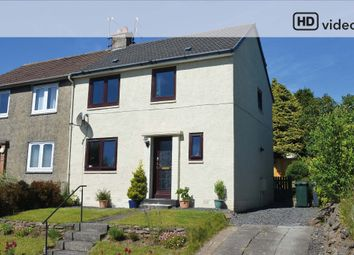 Thumbnail 3 bed semi-detached house for sale in Barrs Road, Cardross, Dumbarton