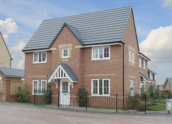 "Thumbnail 3 bed detached house for sale in ""Morpeth"" at Peveril Street, Barton Seagrave, Kettering"