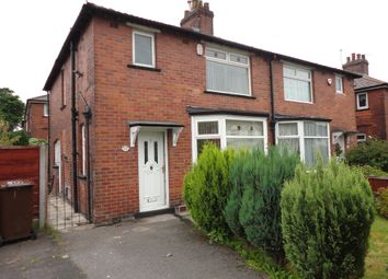 Thumbnail 3 bed semi-detached house to rent in Rectory Lane, Prestwich, Manchester