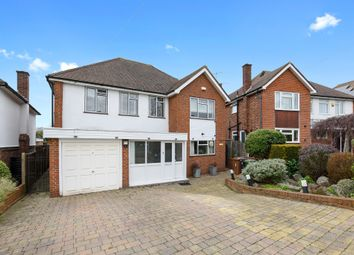 Thumbnail 4 bed detached house for sale in Fairfax Avenue, Ewell, Epsom