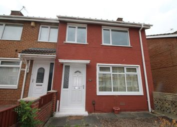 Thumbnail 3 bedroom semi-detached house to rent in Tithe Barn Road, Stockton-On-Tees