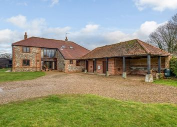 Thumbnail 4 bed barn conversion for sale in Horstead Lane, Frettenham, Norwich