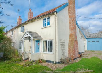Thumbnail 2 bedroom semi-detached house for sale in Hollow Hill, Withersfield, Haverhill