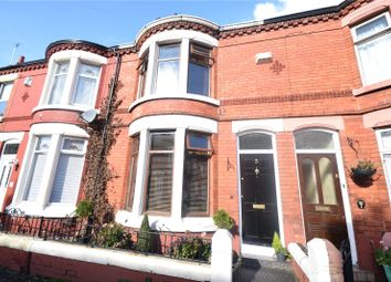 Thumbnail 3 bed terraced house for sale in Grovedale Road, Mossley Hill, Liverpool