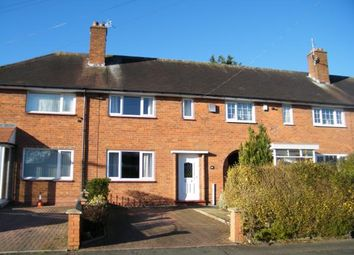 Thumbnail 2 bed terraced house for sale in Rednal Road, Birmingham, West Midlands