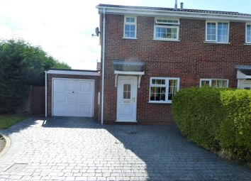 Thumbnail 2 bed semi-detached house to rent in Earls Court, Stretton, Burton-On-Trent