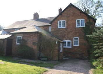 Thumbnail 2 bed semi-detached house to rent in School Cottages, Willington, Tarporley