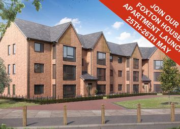 "Thumbnail 2 bed flat for sale in ""Foxton Special 1"" at Beggars Lane, Leicester Forest East, Leicester"
