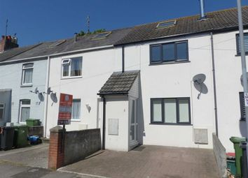 Thumbnail 3 bed terraced house for sale in Marsh Road, Weymouth, Dorset