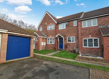 Thumbnail 2 bedroom terraced house to rent in Cleobury Close, Redditch, Worcester
